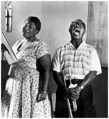 Ella & Louis recording Ella and louis Again LA 1957